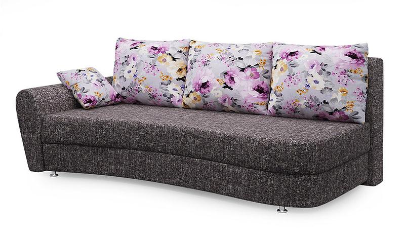 Turime, sofa lova Fortuna pilkšva | Būsto Pasaulis