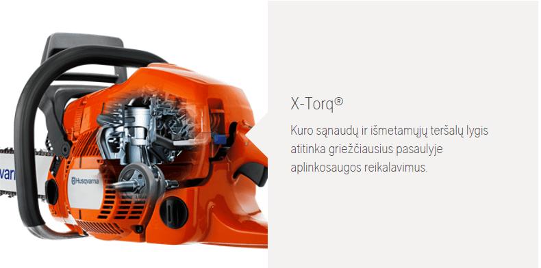 X-TORQ Husqvarna Būsto Pasaulis