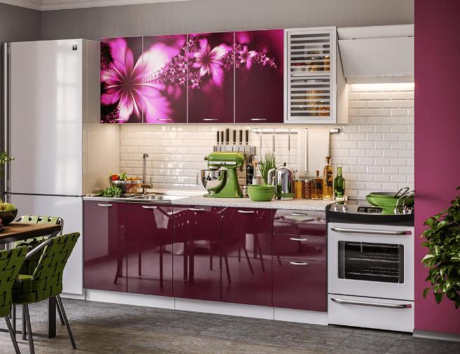 Virtuvės komplektas Komfort 6 spintelės (2m) | Būsto Pasaulis
