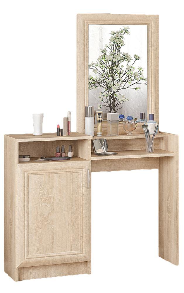 Turime, kosmetinis grožio staliukas Sonata su veidrodžiu | Būsto Pasaulis