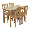 Turime, medinis stalas Delta 100x65 | Būsto Pasaulis